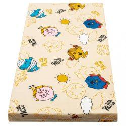 Gyerek matrac New Baby 120x60 hab-kókusz narancssárga mintákkal
