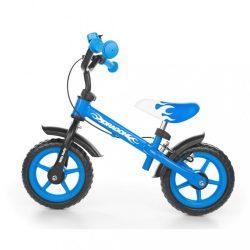 Gyerek futóbicikli Milly Mally Dragon fékkel kék