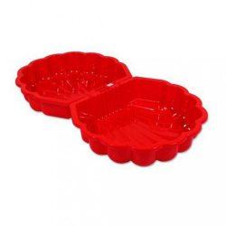 Homokozó - medence Kagyló - 2 darab piros