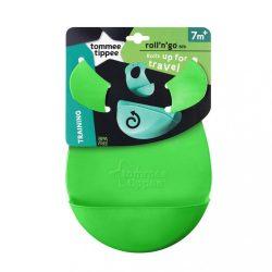 Műanyag előke Tommee Tippee Explora zöld