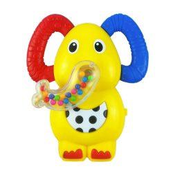 Gyerek zenélős csörgő babakocsiba Baby Mix elefánt