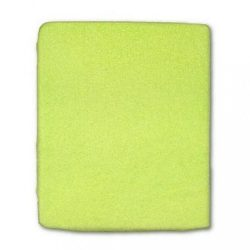 Vízálló lepedő New Baby 120x60 zöld