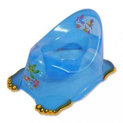 Gyerek csúszásmentes bili aqua kék