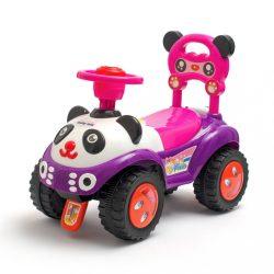 Zenélő bébitaxi Baby Mix Panda kék rózsaszín