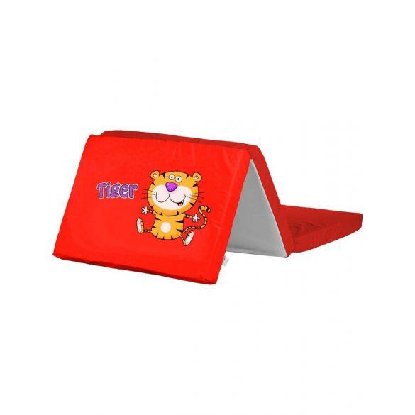 Összerakható matrac kiságyba CARETERO Tigris piros