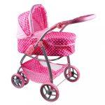 Multifunkciós kocsi babáknak PlayTo Jasmínka világos rózsaszín