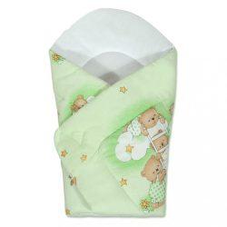 Pólya New Baby zöld maci