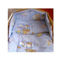 Kétrészes ágyneműgarnitúra New Baby 100/135 cm kék macis