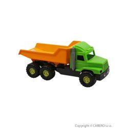 Homokozó játék - Teherautó sárgás-zöld