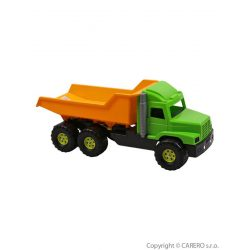 Homokozó játék - Dömper sárgás-zöld
