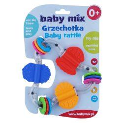 Gyermek csörgő Baby Mix színes háromszög