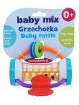 Gyermek csörgő Baby Mix színes henger