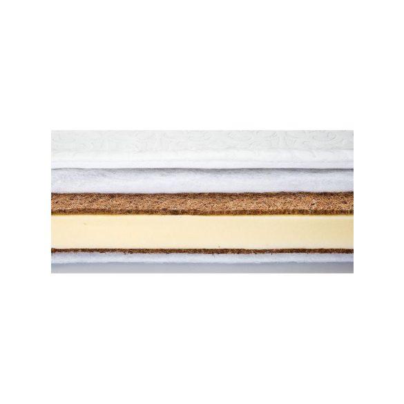 Matrac SENSILLO kókusz-hab-kókusz Classic 120x60 cm