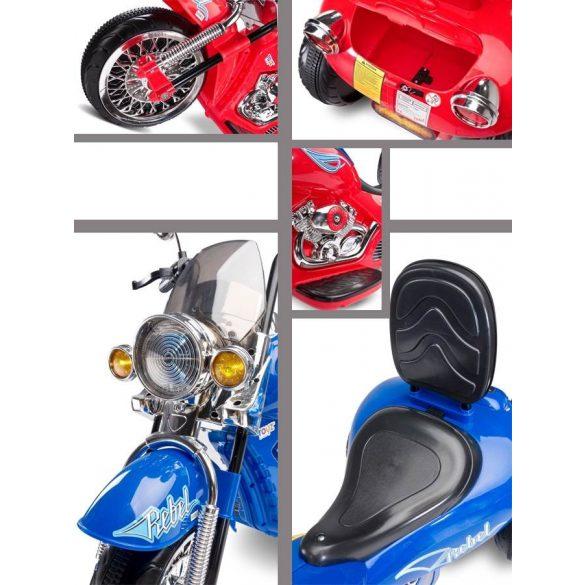 Elektromos kismotor Toyz Rebel piros