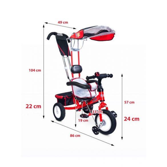 Gyerek tricikli Toyz Derby szürke