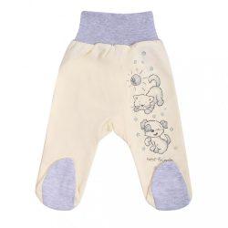 Csecsemő lábfejes nadrág New Baby Barátokk bézs