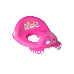 Gyerek csúszásmentes WC szűkítő Kis Hercegnő rózsaszín