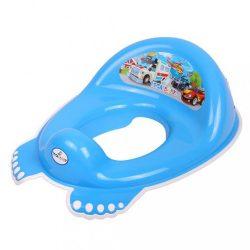 Gyerek csúszásmentes WC szűkítő Autó kék