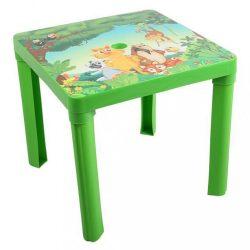 Gyerek kerti bútor- műanyag asztal zöld