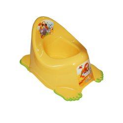 Gyerek csúszásmentes bili Safari sárga