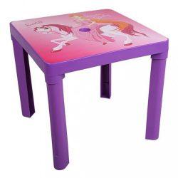 Gyerek kerti bútor- műanyag asztal lila