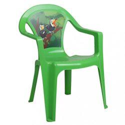 Gyerek kerti bútor- műanyag szék zöld