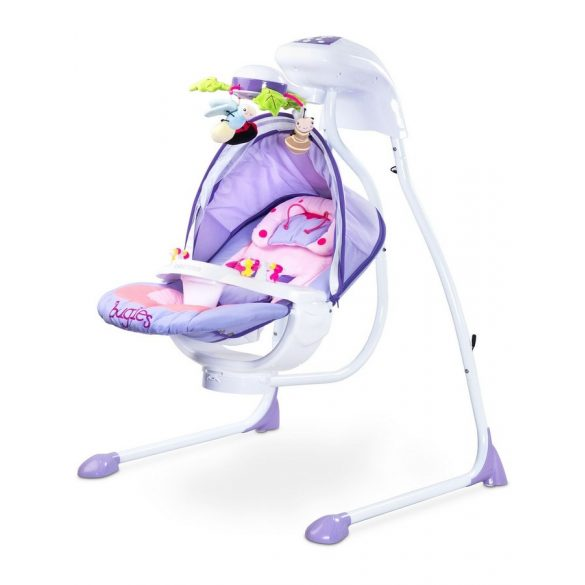 Gyerek hintáztató CARETERO Bugies purple