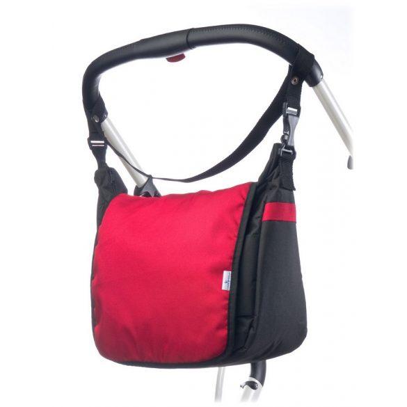 Pelenkázó táska CARETERO - red