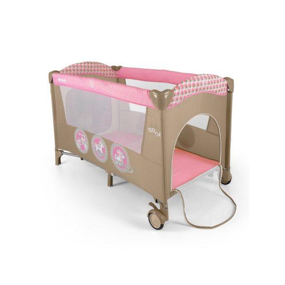 Utazóágy Milly Mally Mirage pink toys