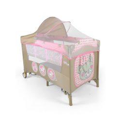 Utazóágy Milly Mally Mirage Deluxe pink toys
