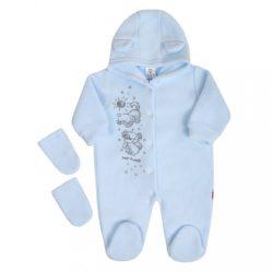 Fleece kezeslábas New Baby Barátok kék