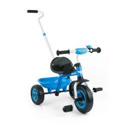 Gyerek háromkerekű bicikli Milly Mally Boby TURBO blue