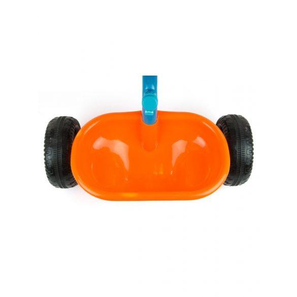 Gyerek háromkerekű bicikli Milly Mally Boby TURBO orange
