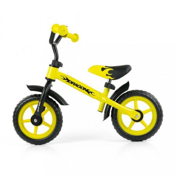 Gyerek futóbicikli Milly Mally Dragon sárga
