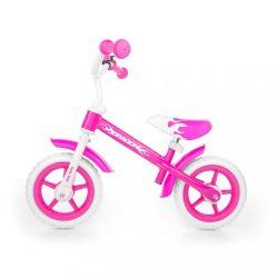 Gyerek futóbicikli Milly Mally Dragon rózsaszín