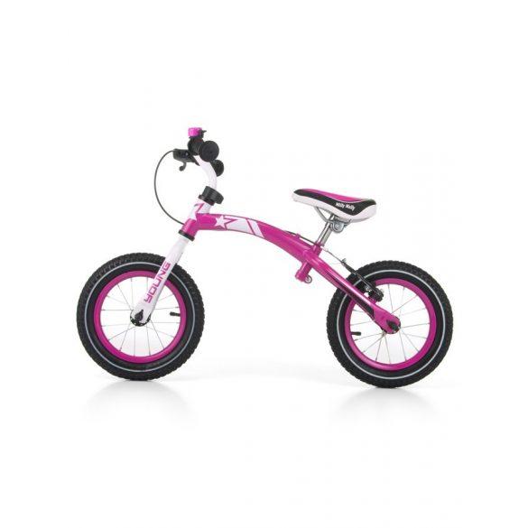 Gyerek futóbicikli Milly Mally Young pink