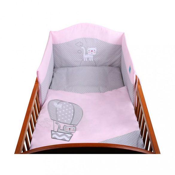 6-részes ágyneműhuzat Belisima Léggömb 90/120 rózsaszín