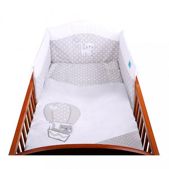 6-részes ágyneműhuzat Belisima Léggömb 100x135 fehér