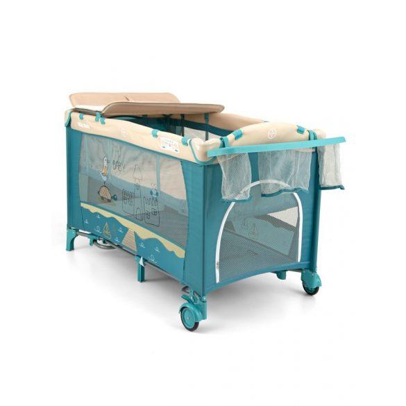 Utazóágy Milly Mally Mirage Deluxe blue toys