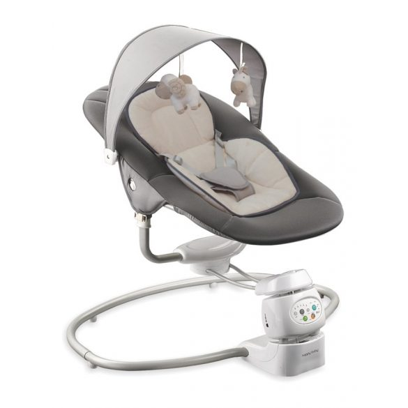 Gyermek forgatható pihenőszék 2az1-ben Baby Mix dark grey