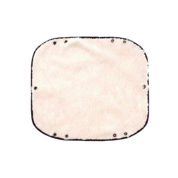 Kézmelegítő babakocsira Sensillo 40x45 black
