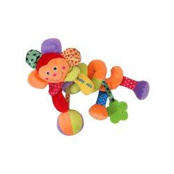 Spirálos játék kiságyra Baby Mix virág