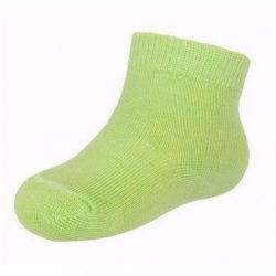 Baba pamut zokni New Baby zöld