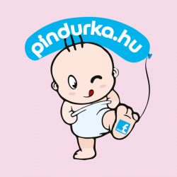 New BabyBaba pamut zokni  rózsaszín hallal