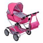 Gyermek babakocsi babáknak 2az1-ben New Baby Rózsi