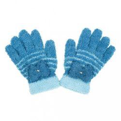 Gyermek téli frottír kesztyű New Baby világos kék