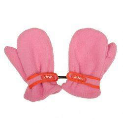 Gyermek téli kesztyű New Baby fleec rózsaszín