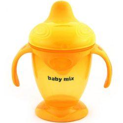 Gyerek varázslatos bögre  Baby Mix 200 ml narancssárga