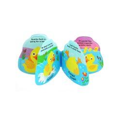 Dětská pískací knížka do vody Baby Mix kačenka