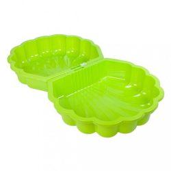 Homokozó - medence Kagyló - 2 darab világos zöld